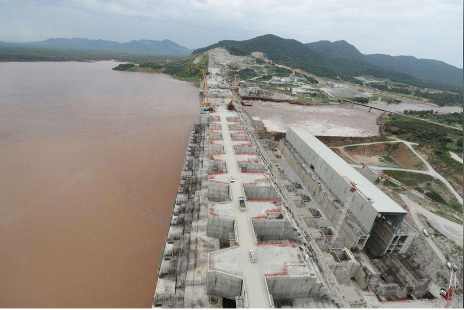 Nile dam In Ethiopia
