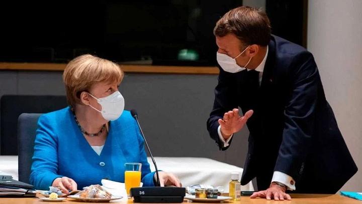 Merkel and Macron