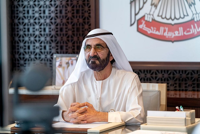 Prime Minister and Vice-President of the United Arab Emirates and ruler of Dubai Sheikh Mohammed bin Rashid al-Maktoum