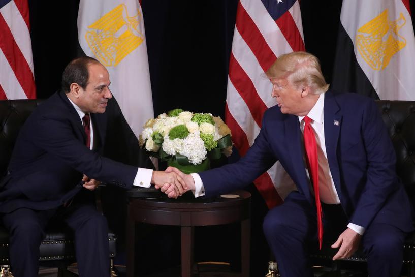 Trump, Egypt's Sisi
