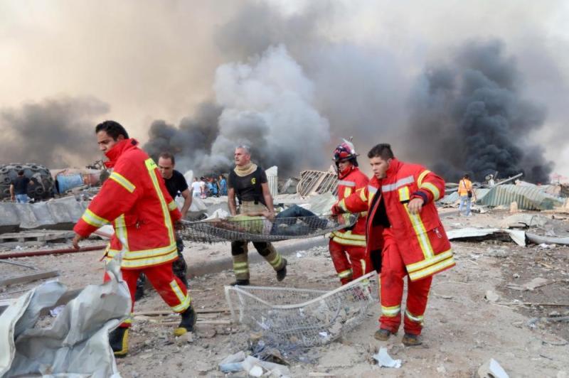 Massive Blast In Lebanon Causing Thousands Of Casualties