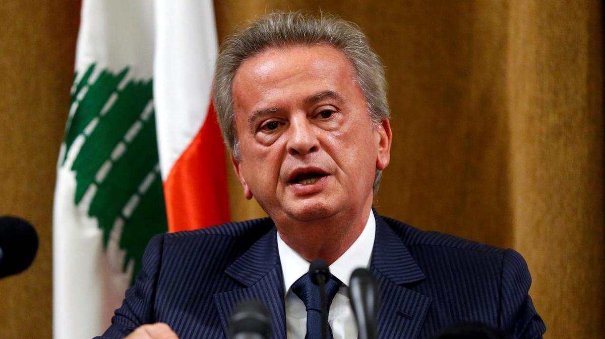 Lebanon's Central Bank Riad Salameh