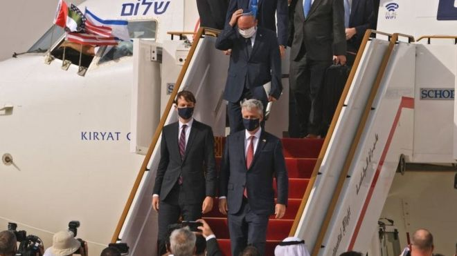 First direct Israel to UAE flight lands in Abu Dhabi