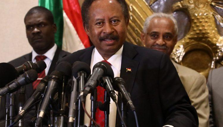 Sudan's Prime Minister in the transitional government Abdalla Hamdok