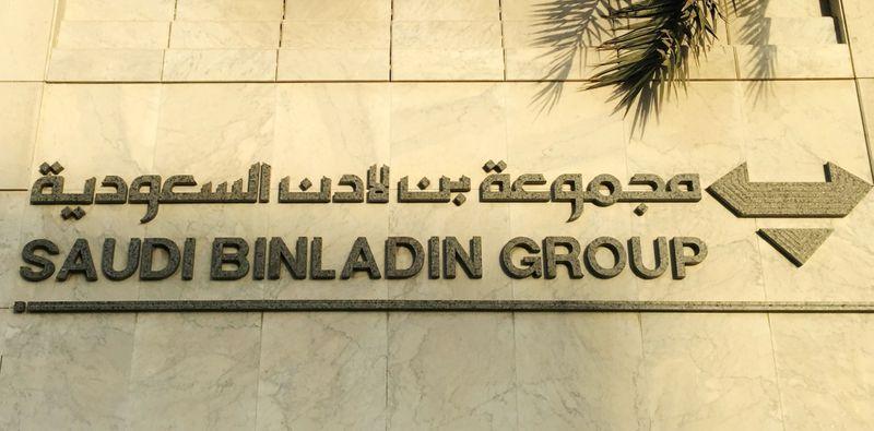 Saudi Binladin Group is seen in Jeddah, Saudi Arabia