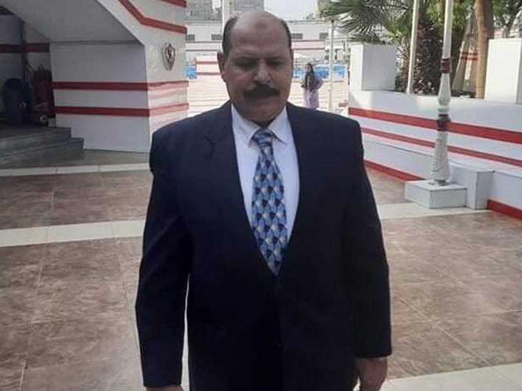 Head of Egypt's popular sports club Al Zamalek Ahmed Al Bakri