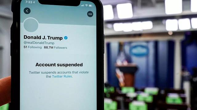 Twitter account of U.S. President Donald Trump