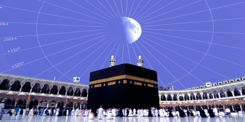 Moon to appear directly above Kaaba