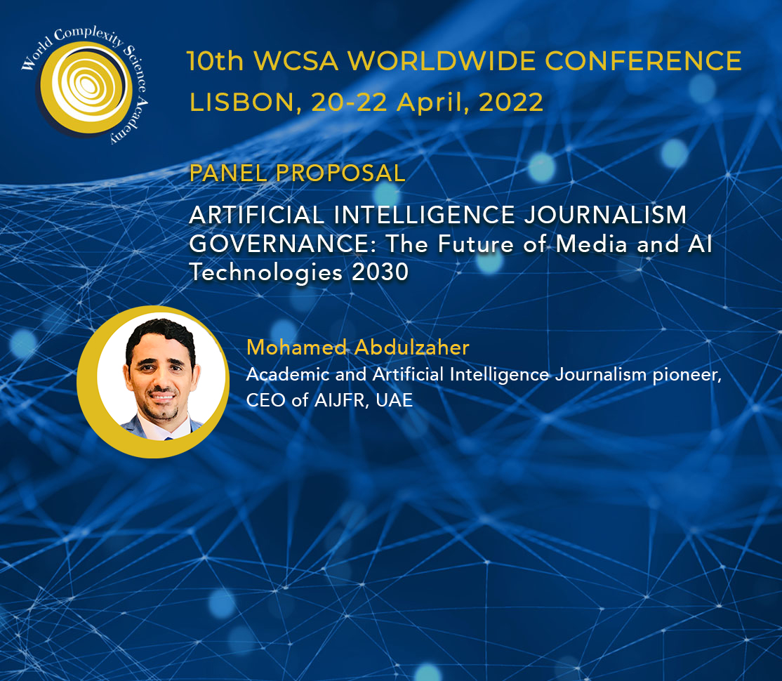 AIJRF To Moderate Panel Discussion At the 10th WCSA Worldwide Conference